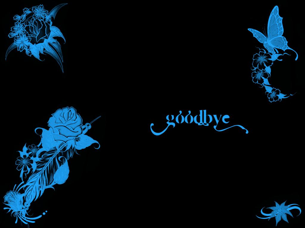 Goodbye Wallpaper Background Theme Desktop 1024x768