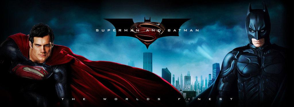 Superman and Batman Wallpaper by Tekon22 1024x373