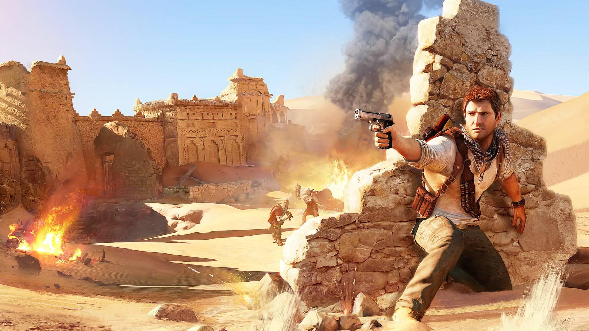 Pics Photos   Uncharted 3 1080p Wallpaper Yemen 12 2 1920x1080