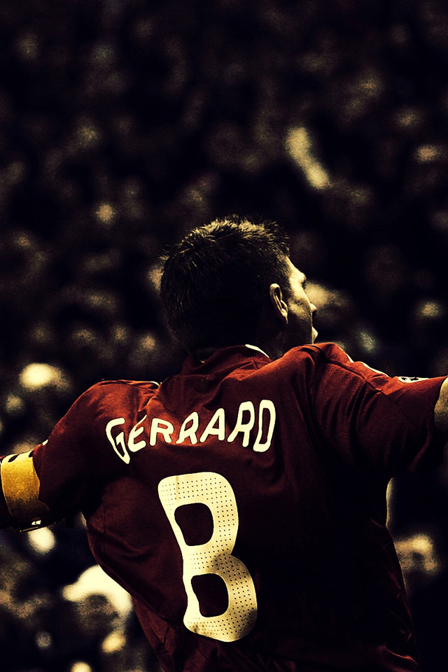 Steven Gerrard Football wallpaper iPhone Wallpapers 640x960