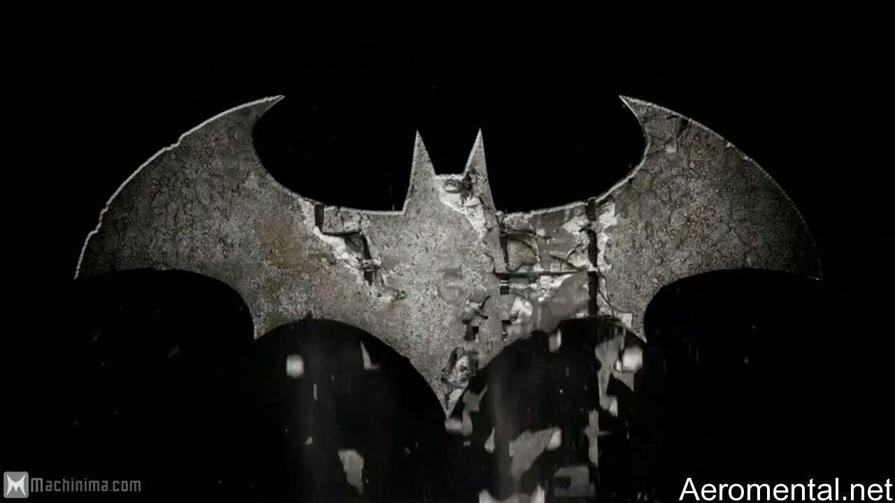 Batman Arkham Asylum 2 logo wallpaper 1280x720