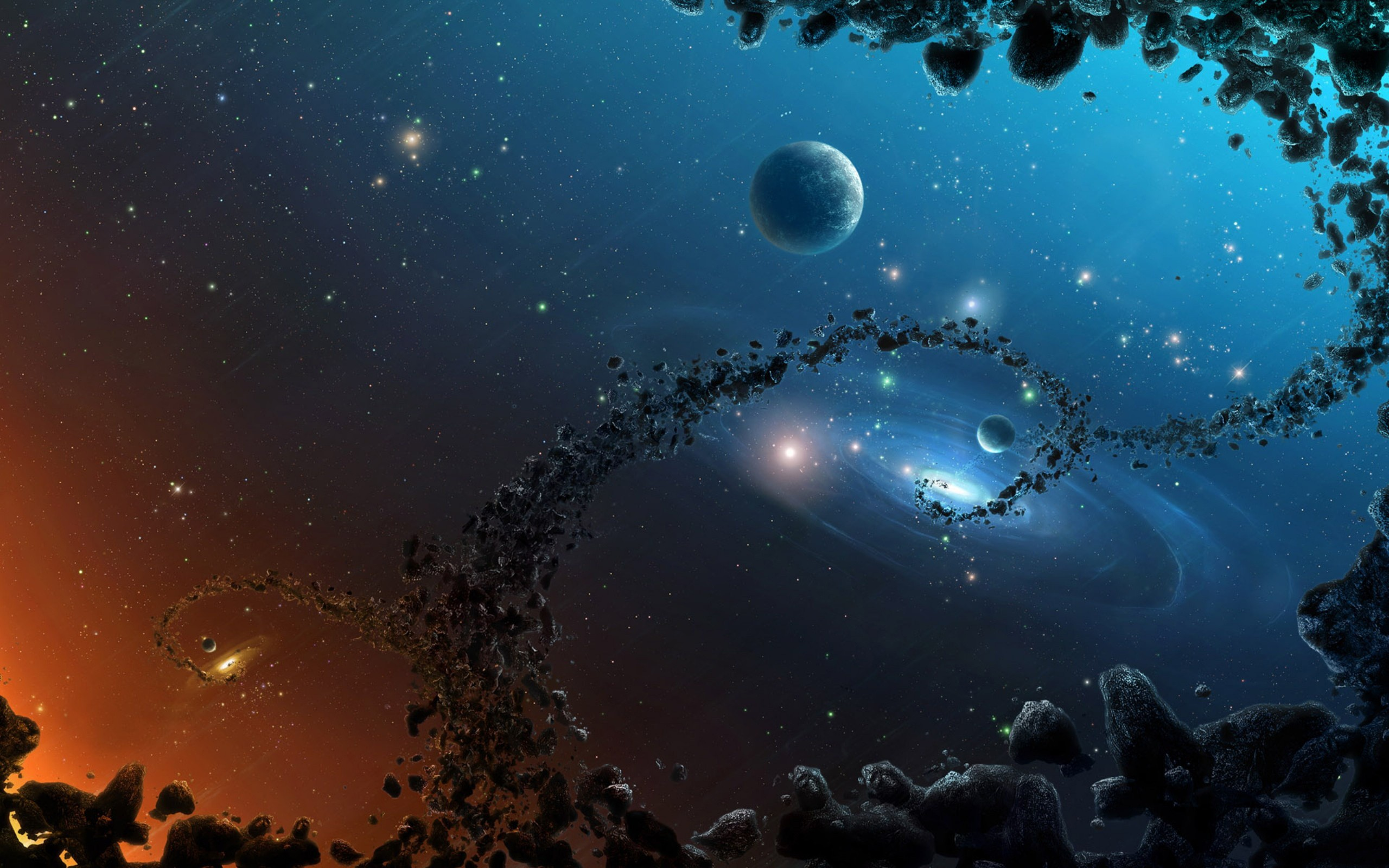 Space Wallpaper Widescreen wallpaper - 1059276