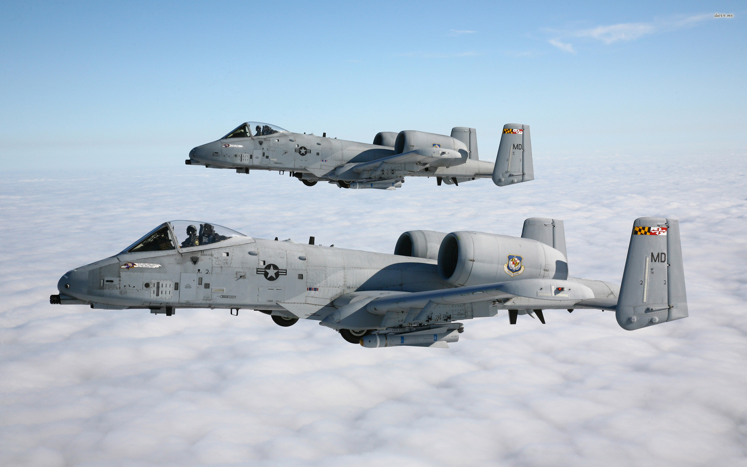 Fairchild Republic A 10 Thunderbolt II wallpaper 2560x1600
