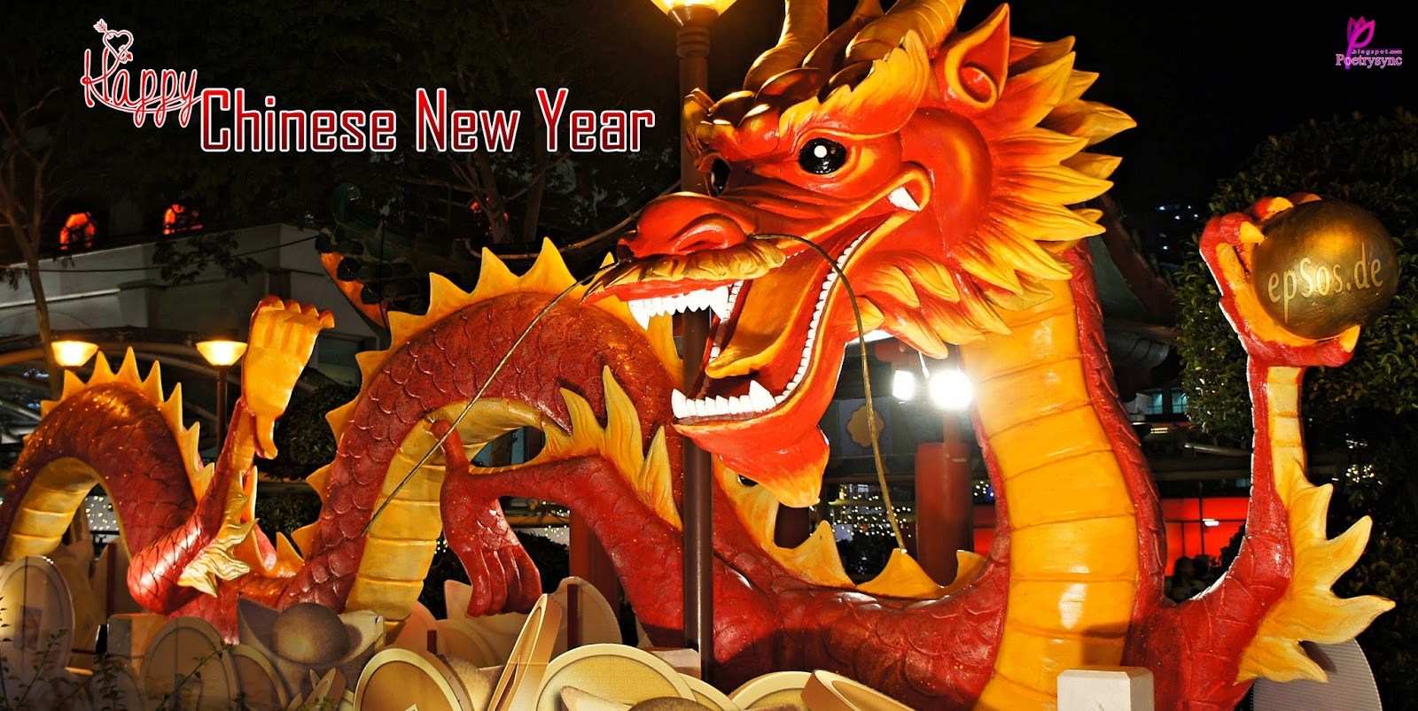 Happy Chinese New Year Wishes and Greetings Happy Lunar New Year 2014 1600x803