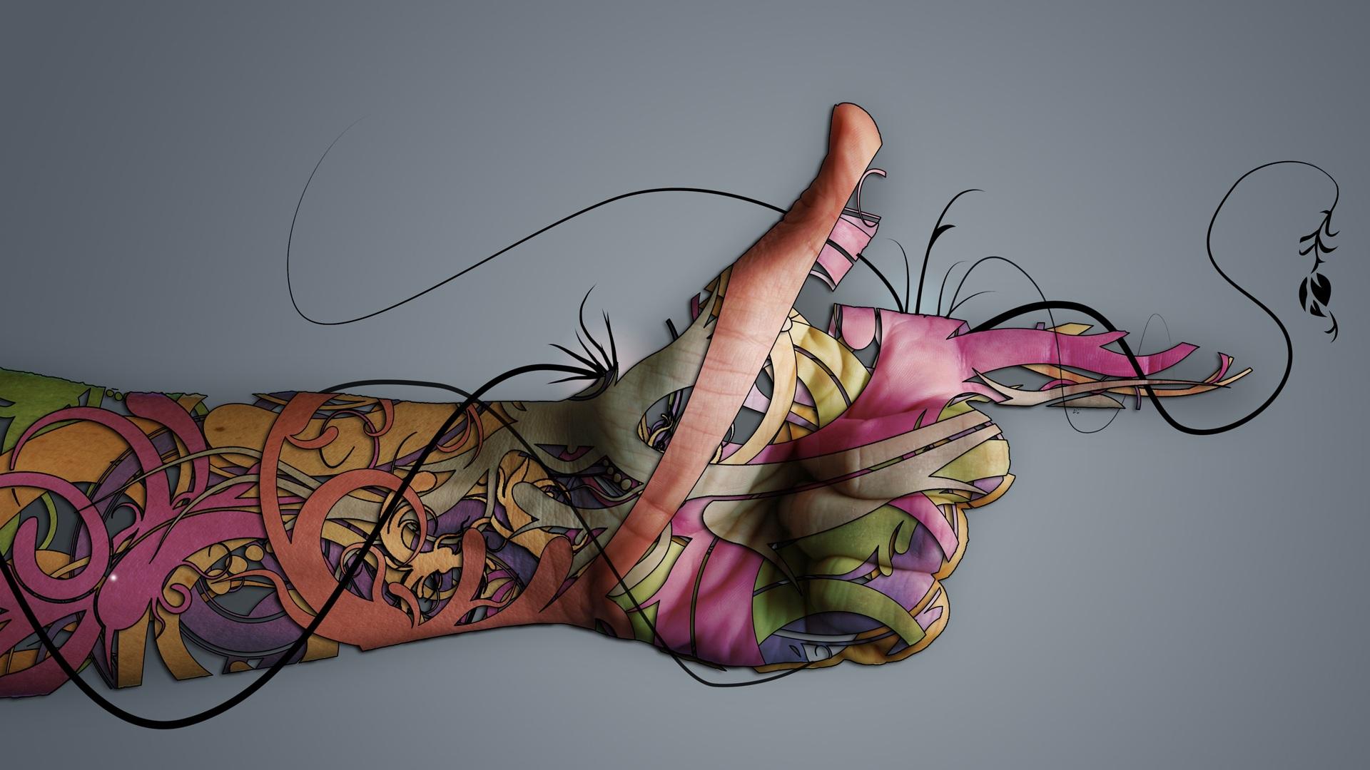 Tattoo Girl Wallpaper HDWallpaperSafari