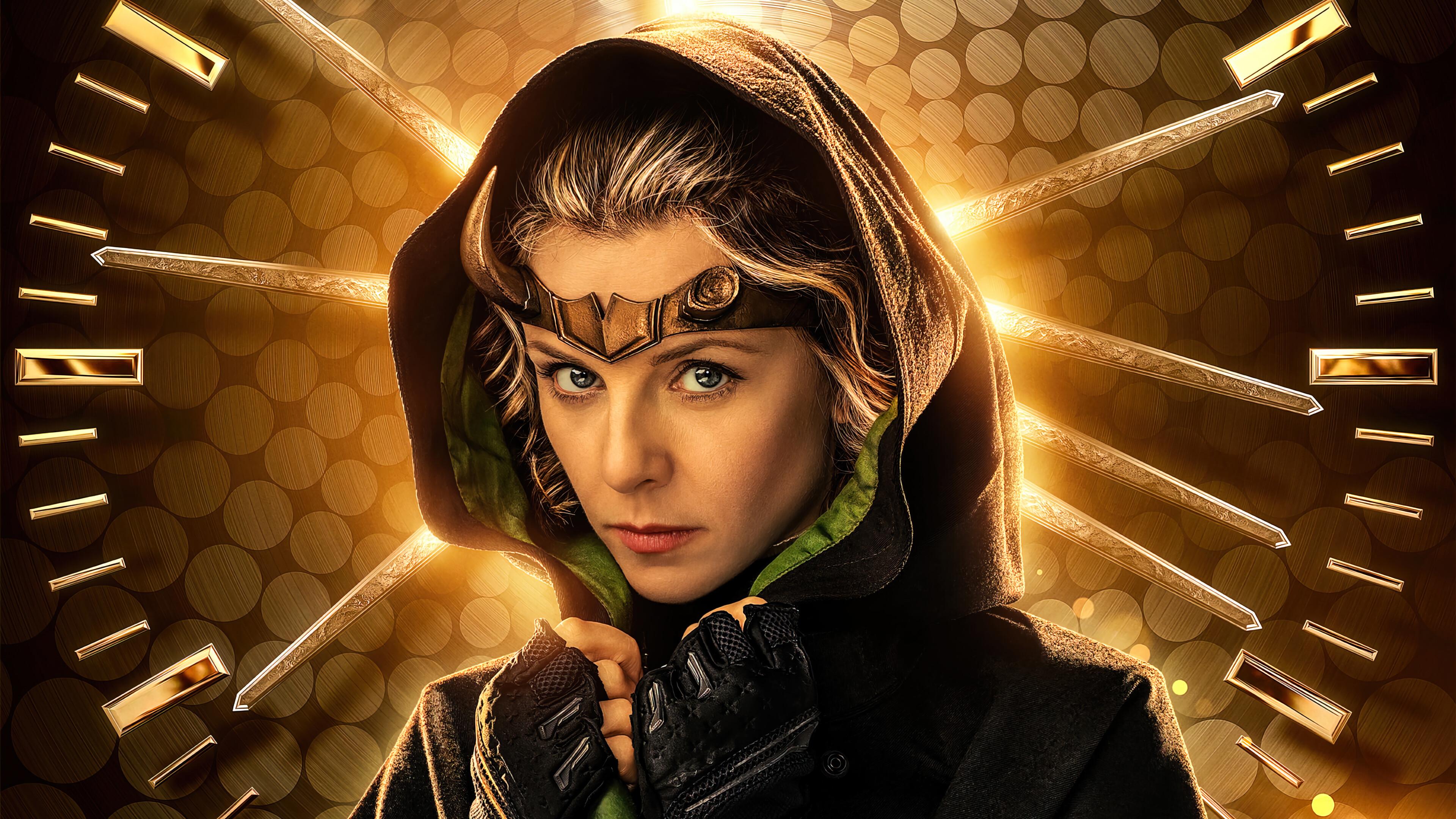 Loki TV Series Sylvie 4K Phone iPhone Wallpaper 8020a 3840x2160