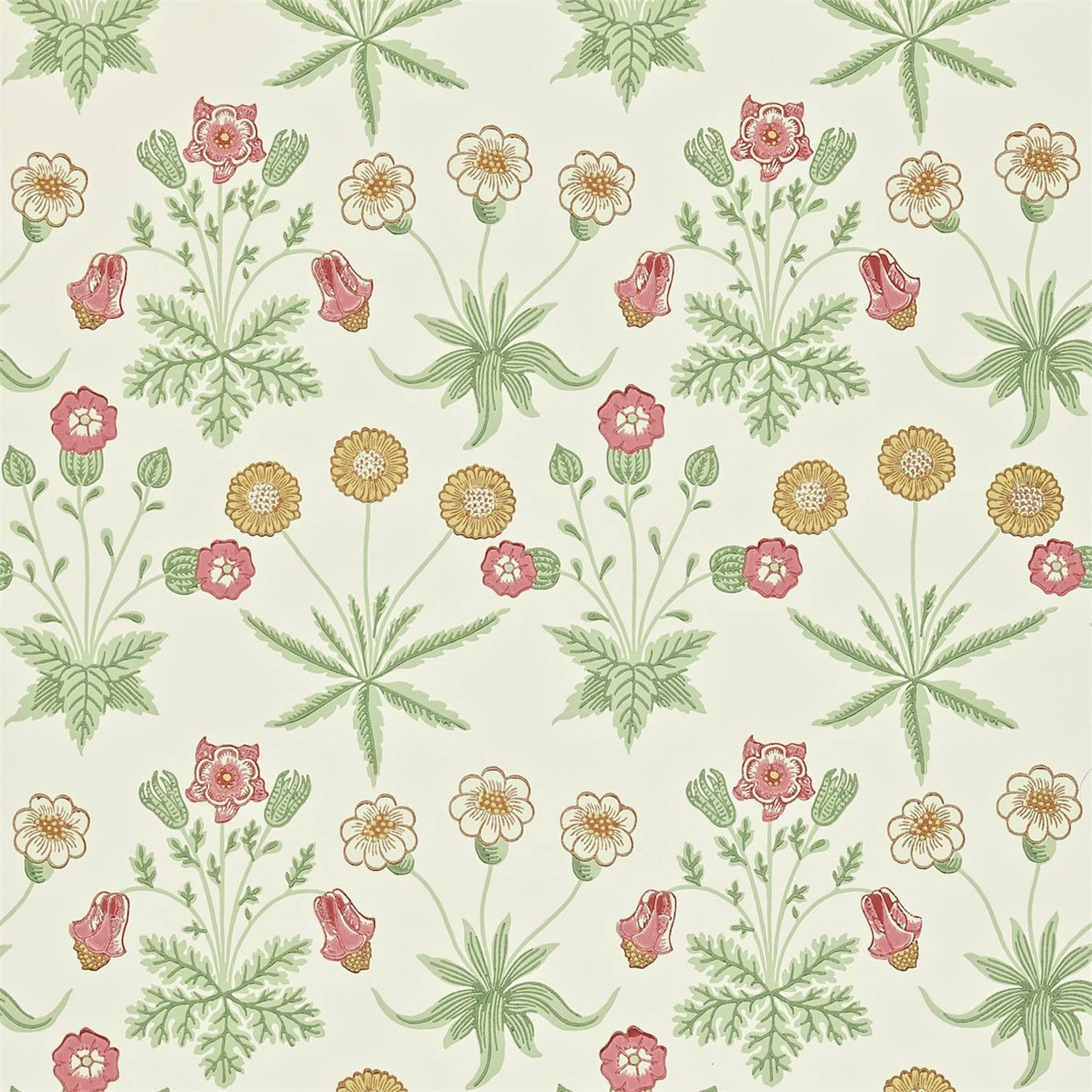 Wallpapers William Morris Co Archive 2 Wallpapers Daisy Wallpaper 1386x1386