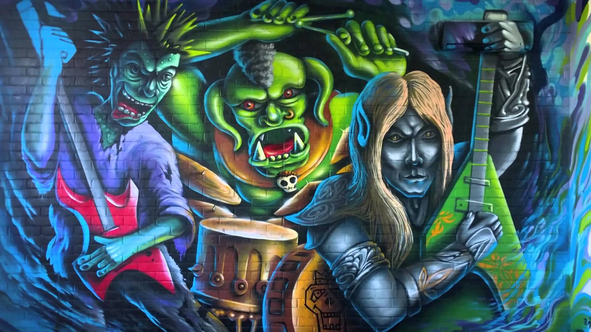 Colorful Abstract Graffiti Wallpaper Hd Desktop Wallpapers 1920x1080