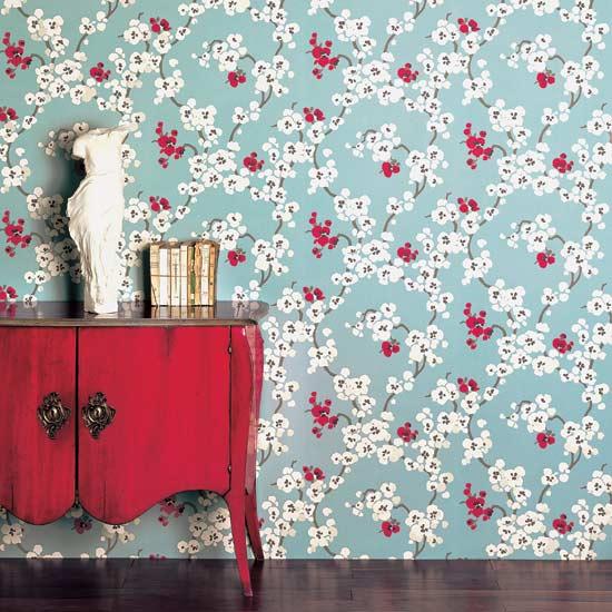 Oriental Print Wallpaper PicsWallpapercom 550x550