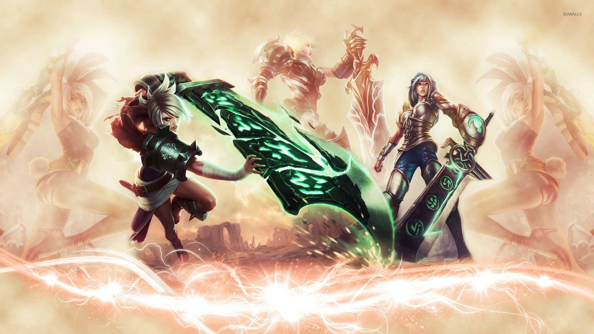 Free Download Riven League Of Legends Wallpaper Game Wallpapers