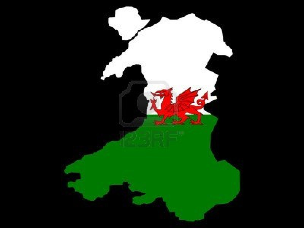 with the Kop Liverpool FC 738898 map wales welsh flag illustration jpg 1200x900
