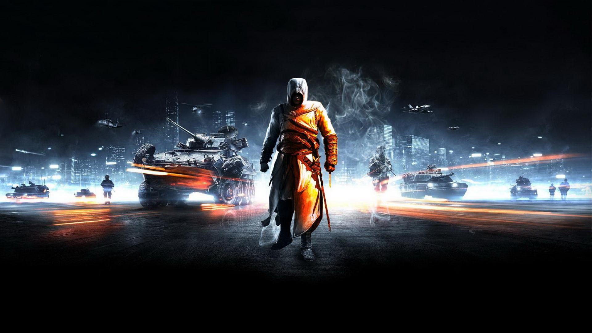 Altair Battlefield 3 Assassins Creed 3 Wallpapers HD Wallpapers 1920x1080