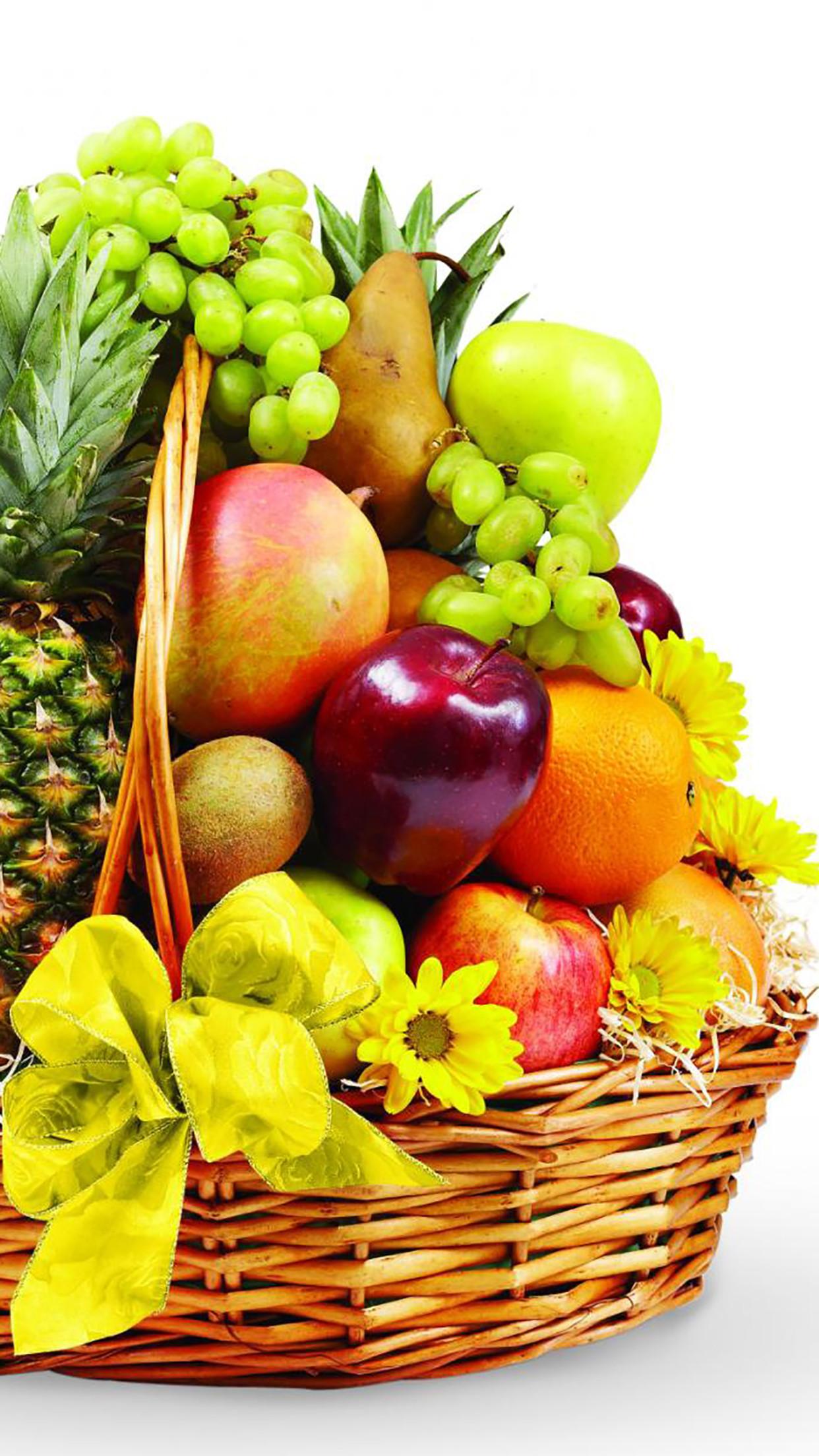 59 Fruit Basket Wallpapers on WallpaperPlay 1242x2208