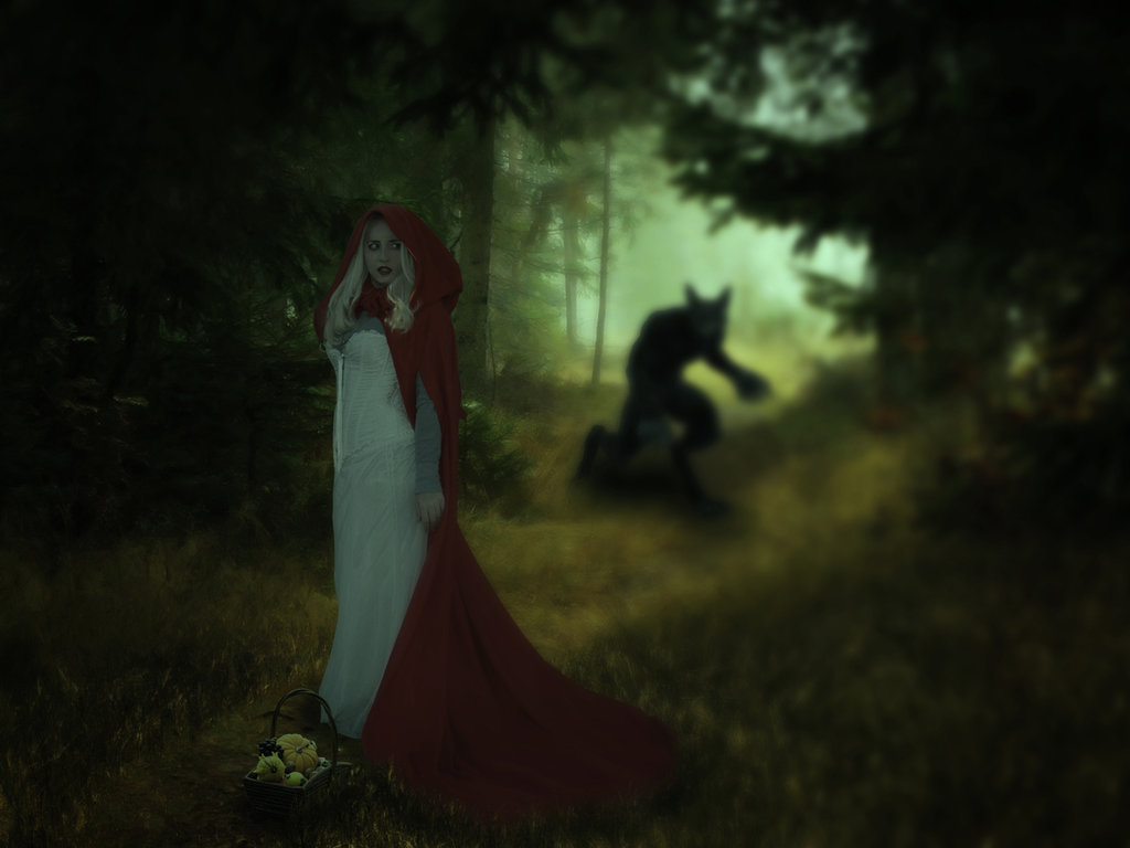 Free Download Little Red Riding Hood And The Wolf Wallpapers