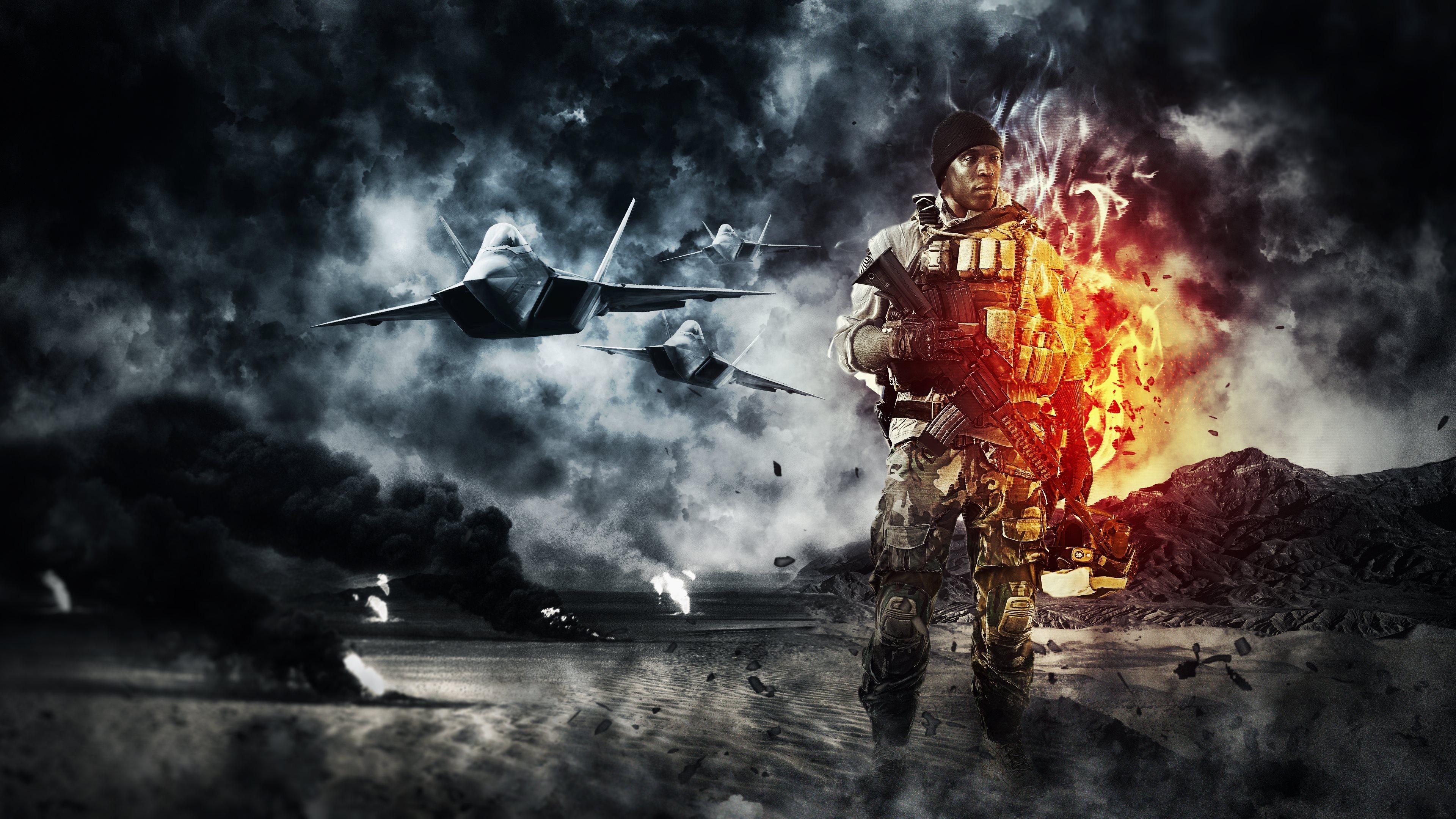 46 Battlefield 4k Wallpaper On Wallpapersafari