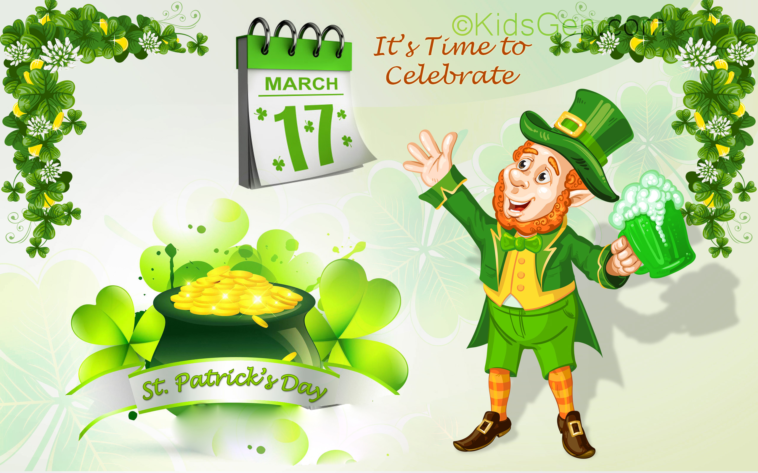 Desktop St Patricks Day Wallpapers 2560x1600