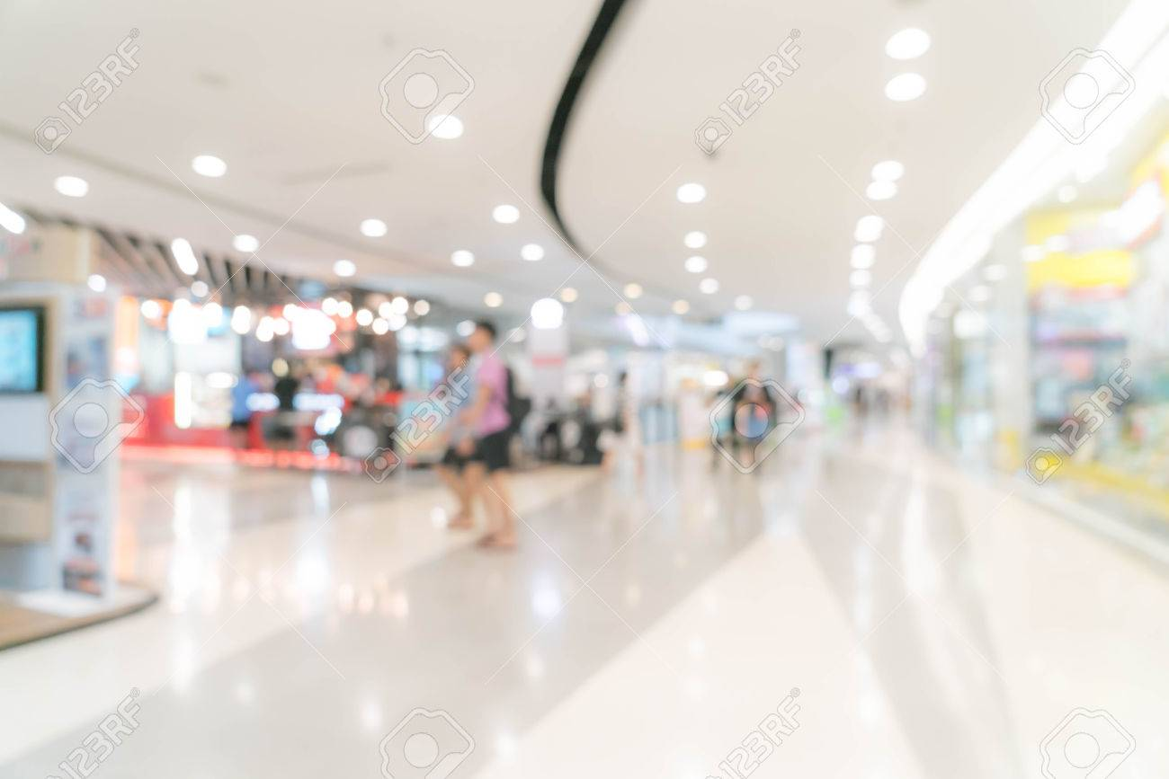 Abstract Blur In Luxury Shopping Mall And Retail Store For 1300x867