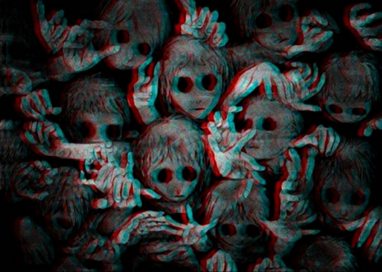 Creepy Anime Wallpaper  WallpaperSafari