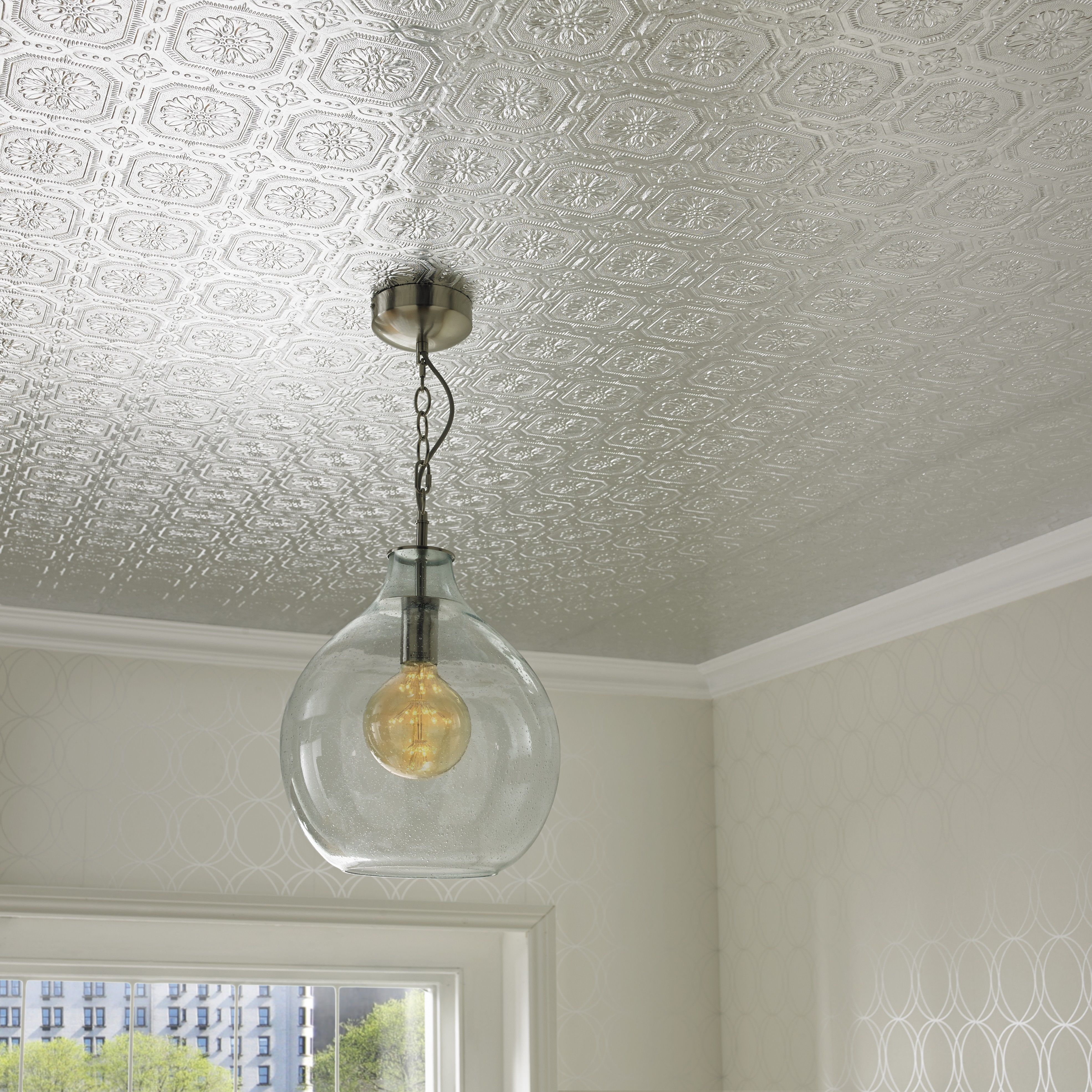 The fifth wall Is wallpapering the ceiling a trend again 3941x3941
