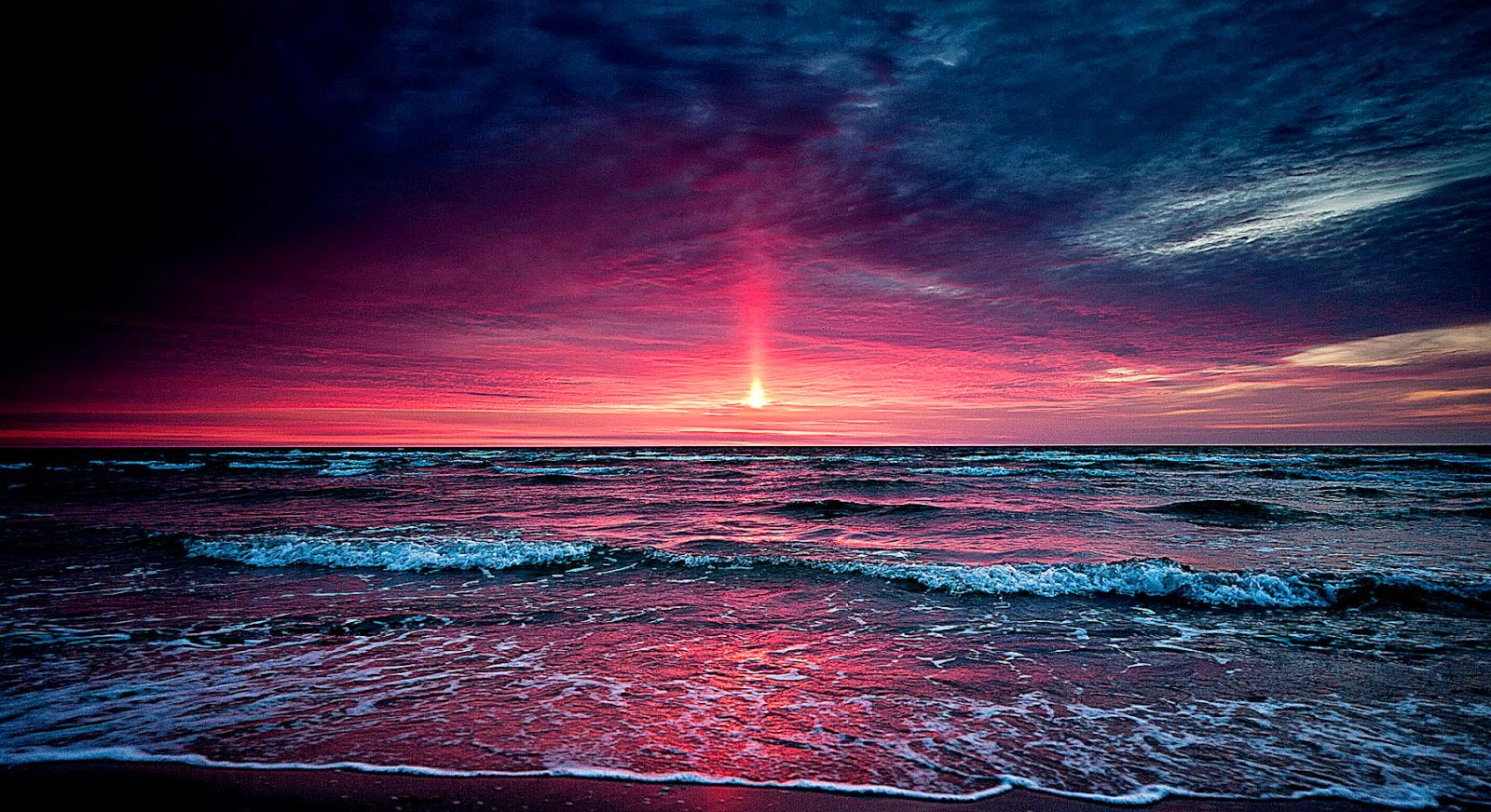 Sunset Beach Best Beach Pictures 1600x872
