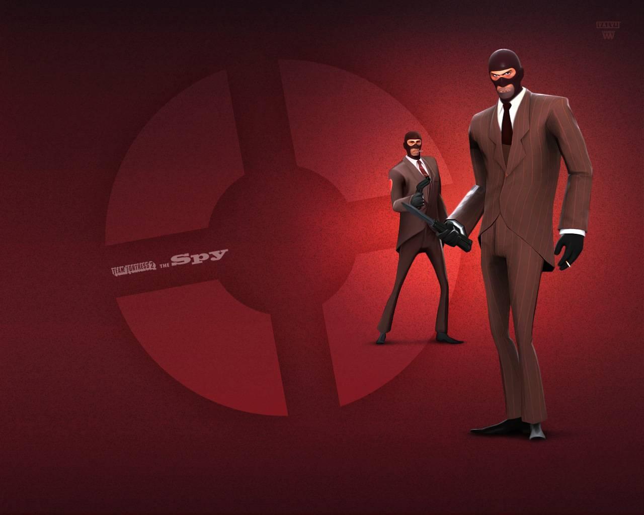 Team Fortress 2 Red Spy   Team Fortress Wallpaper 1280x1024