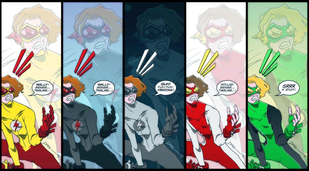 Kid Flash desktop wallpaper by PlanetDann 1024x567