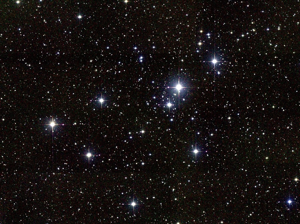 Messier 41 an open cluster in Canis Major Annes 1024x765