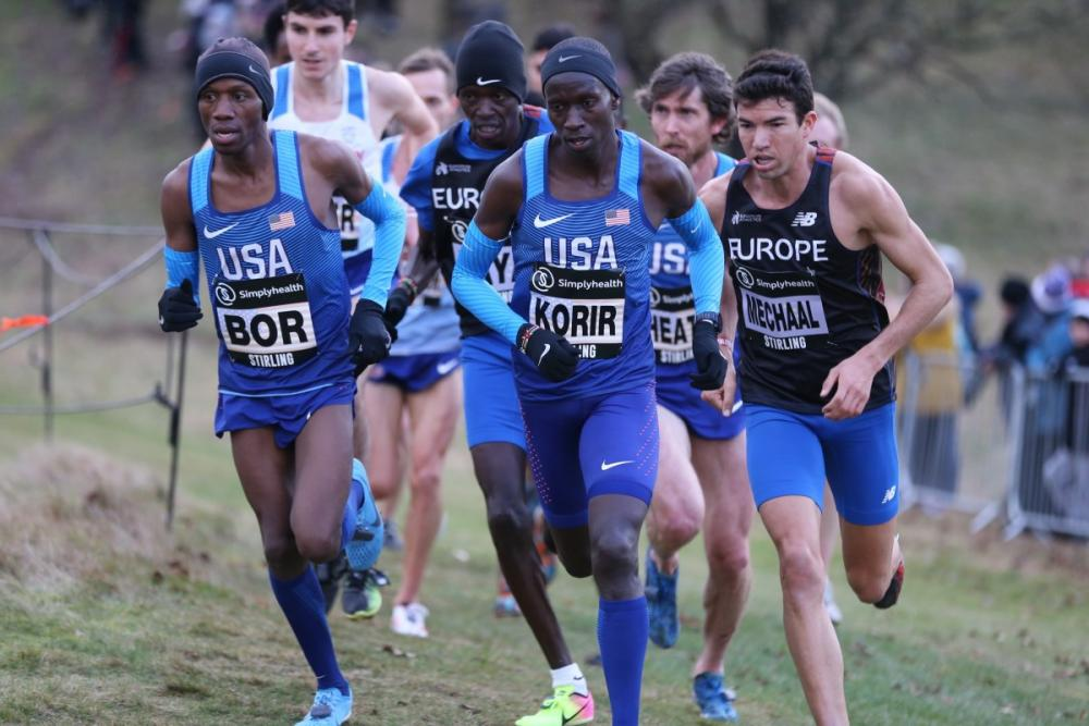 DyeStatcom   News   Experience Leads Mens Field at USATF Cross 1000x667