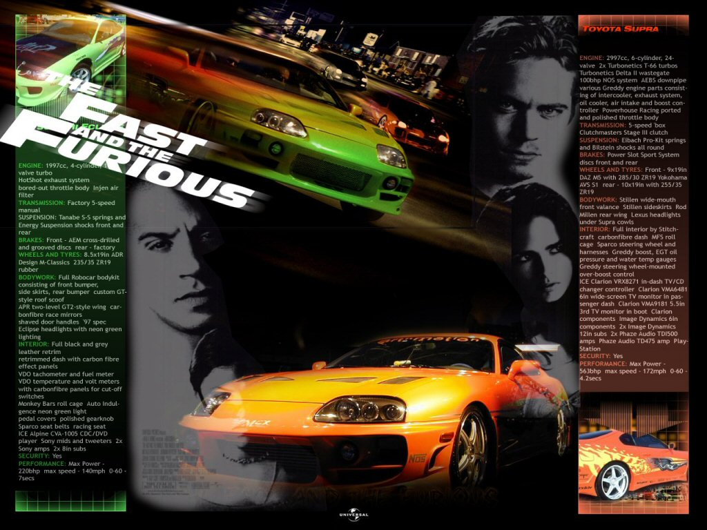 Fast And Furious n08   Fast and Furious   BoolSite 1024x768