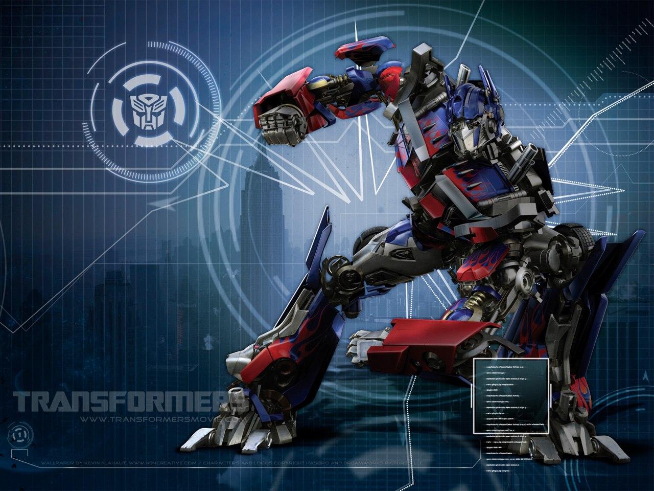 Transformers 2   Optimus Prime Screensaver   ScreensaverBasecom 1280x960