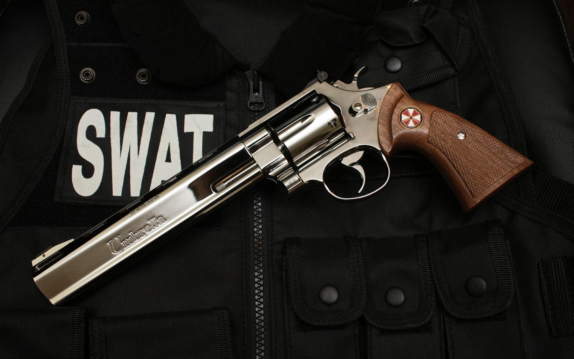 Guns SWAT Wallpaper 1920x1200 Guns SWAT Revolvers Weapons 1920x1200