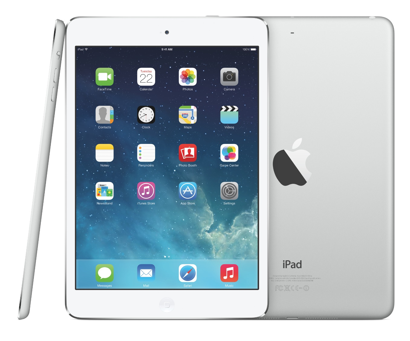 Apple iPad Air MD788BA 97 Internet Tablet 16GB WiFi iOS 7   White D 1356x1128