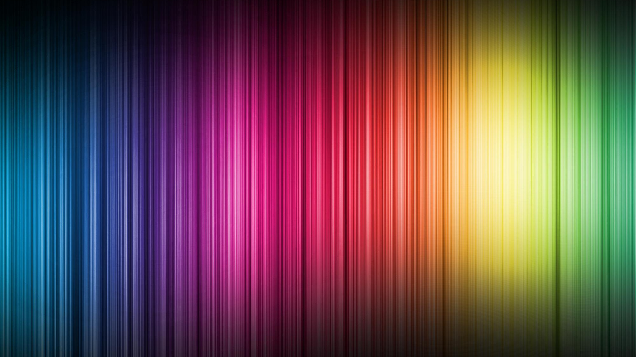 Download Wallpaper 2560x1440 color spectrum bands vertical Mac iMac 2560x1440