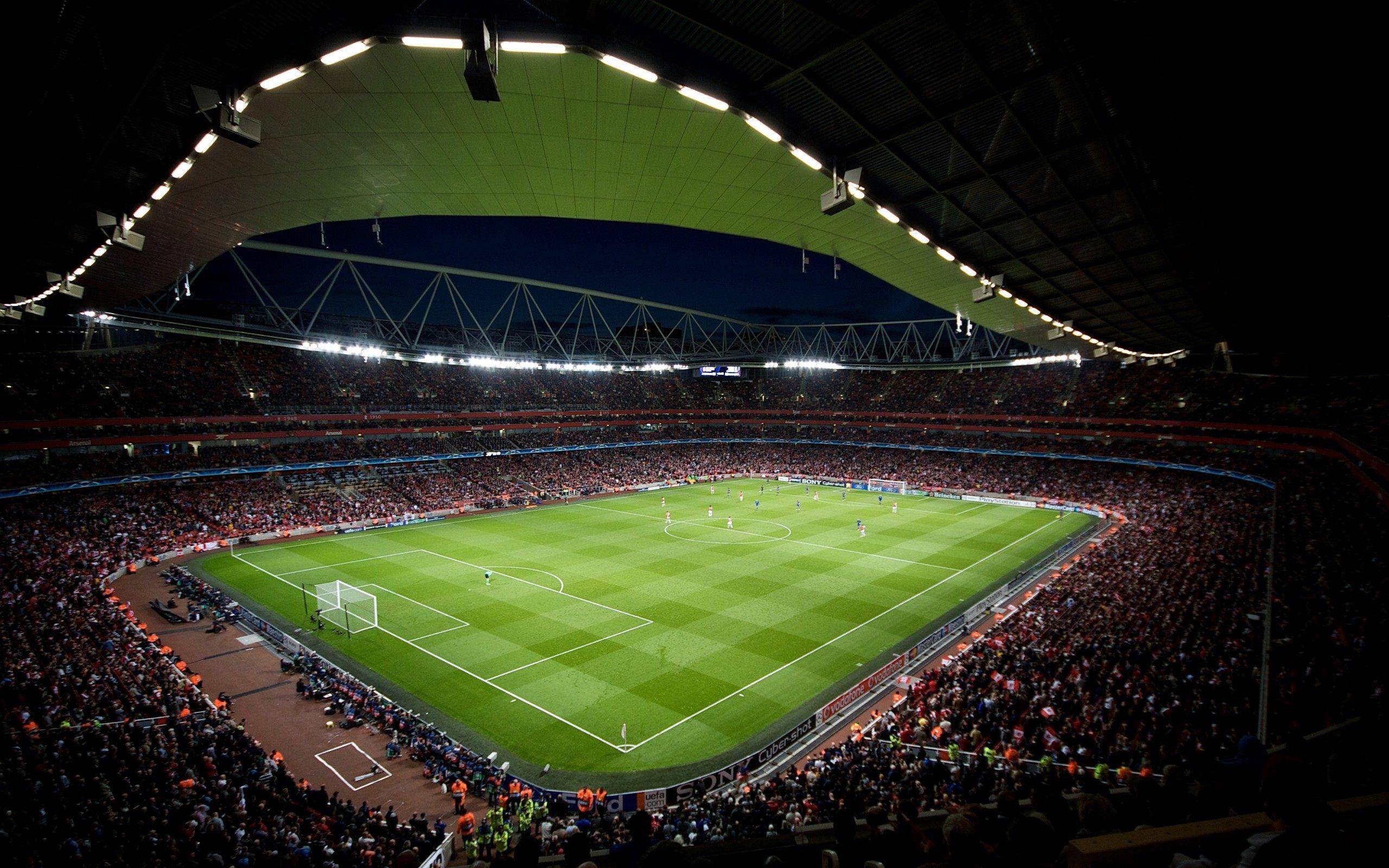 Arsenal Stadium Wallpaper HD For Desktop Of Emirates Stadium 2560x1600