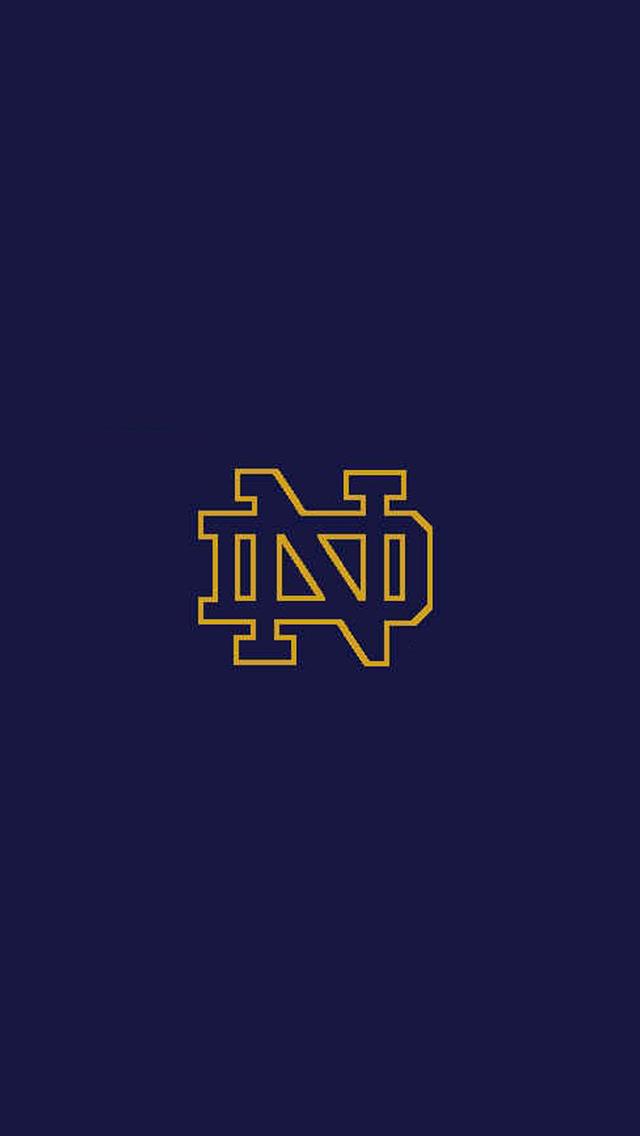 Notre Dame Logo 640x1136