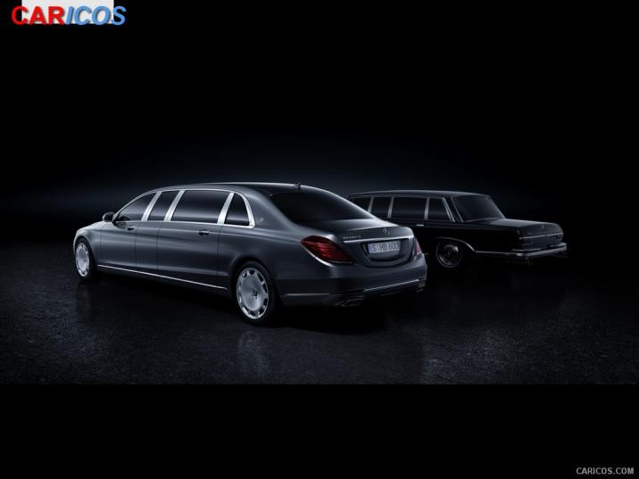 2016 Mercedes Maybach S600 Pullman and Mercedes Benz 600 716x537