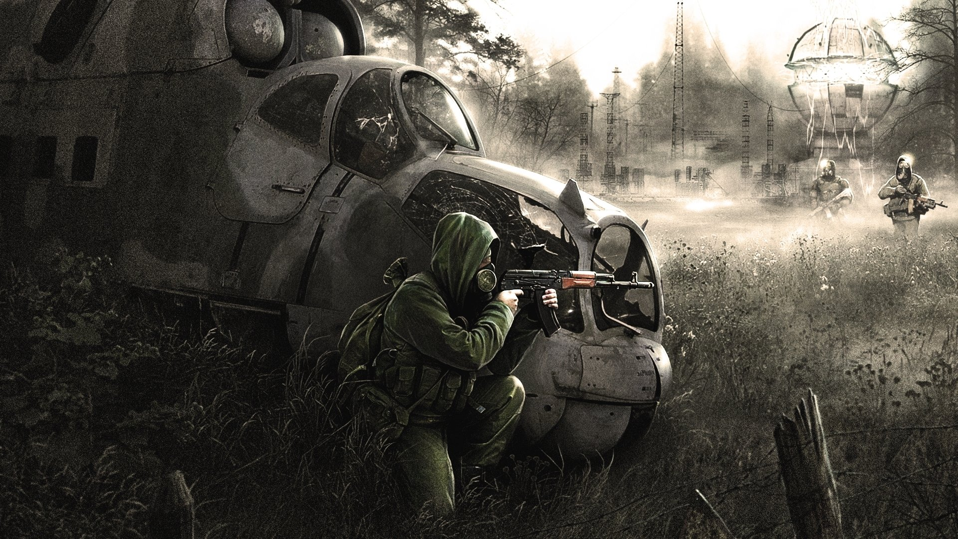 Free Download Stalker Shadow Of Chernobyl Zone Apocalyptic