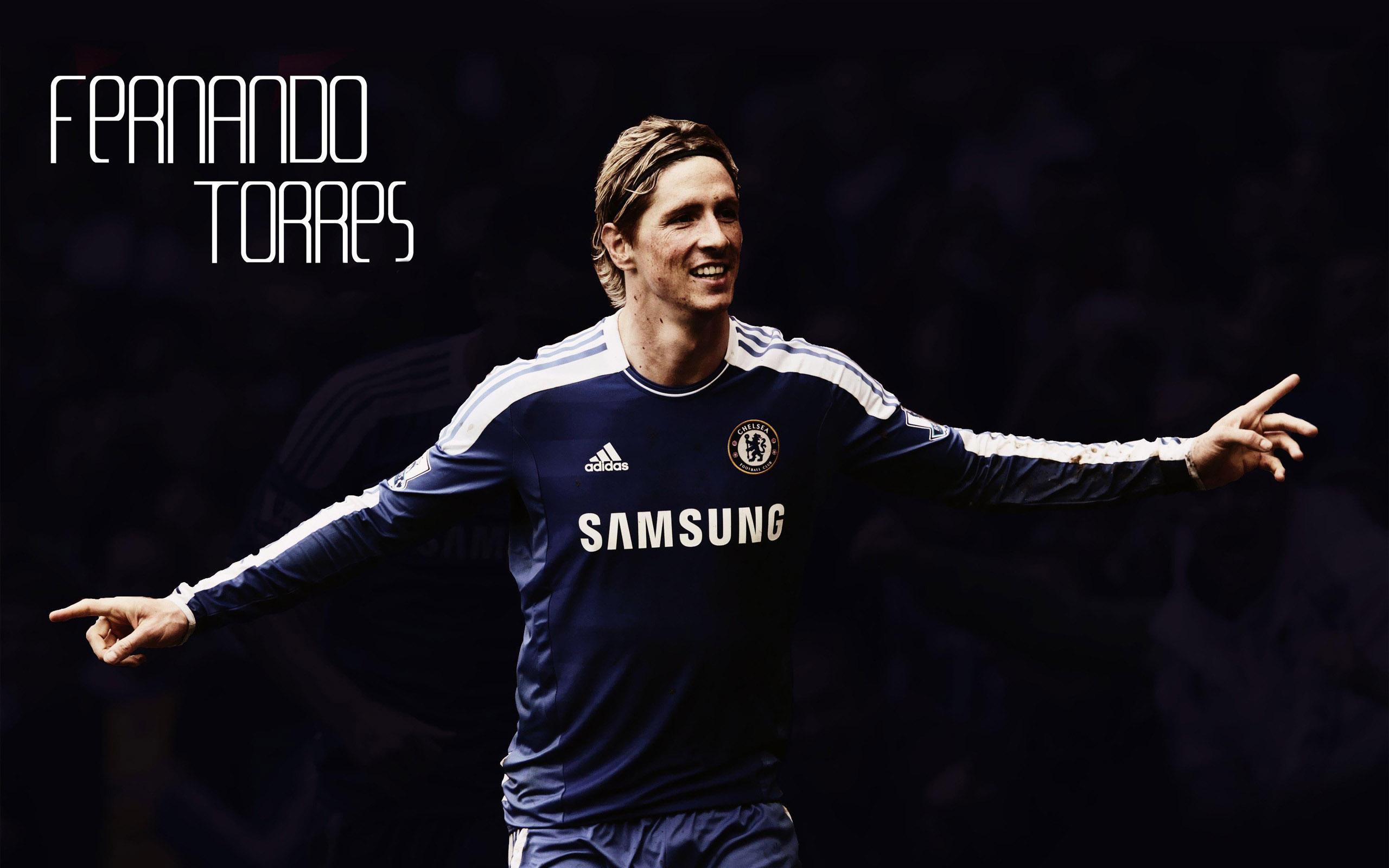 Fernando Torres Chelsea Wallpaper 2560x1600