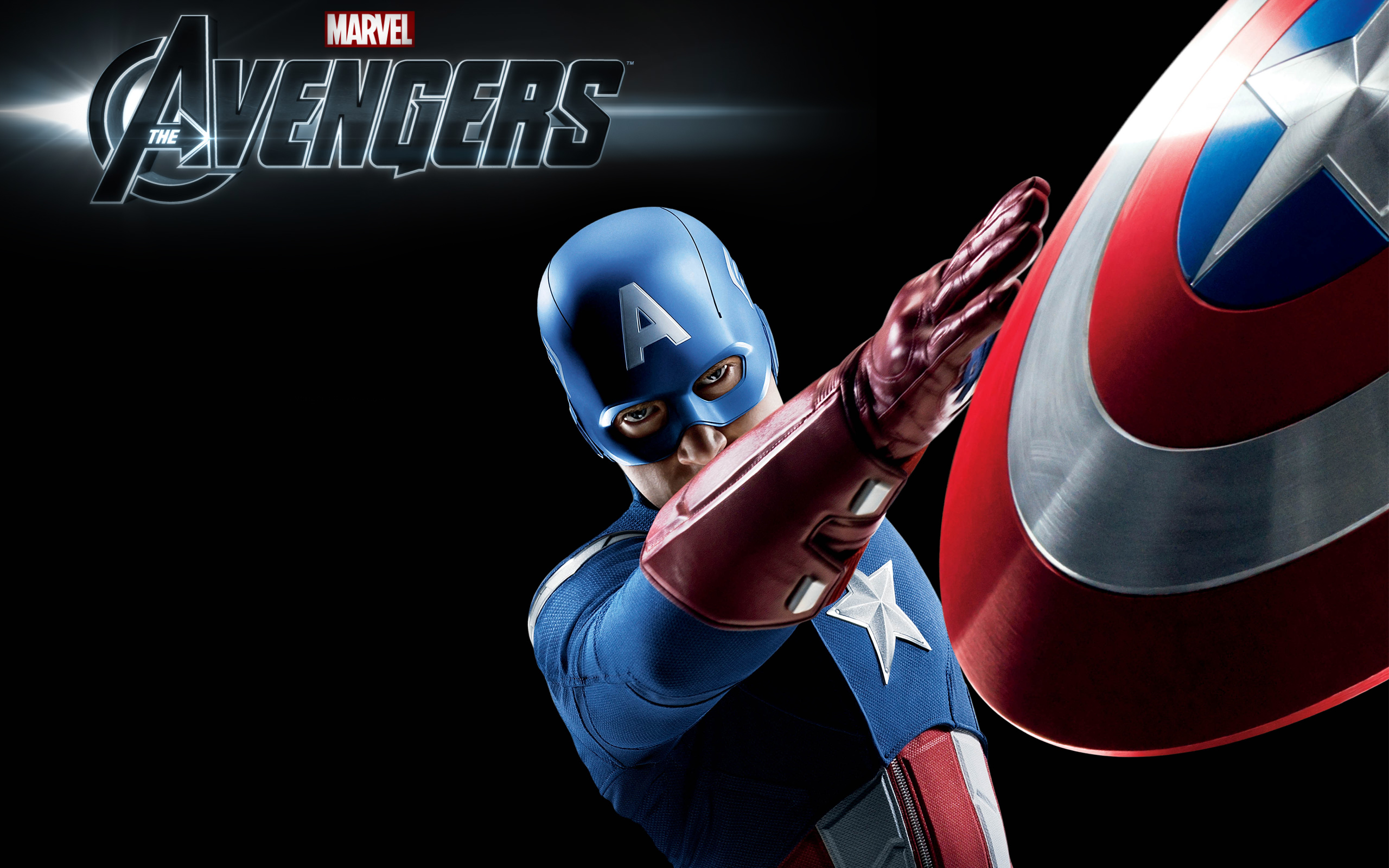 Captain America in The Avengers Wallpapers HD Wallpapers 2560x1600