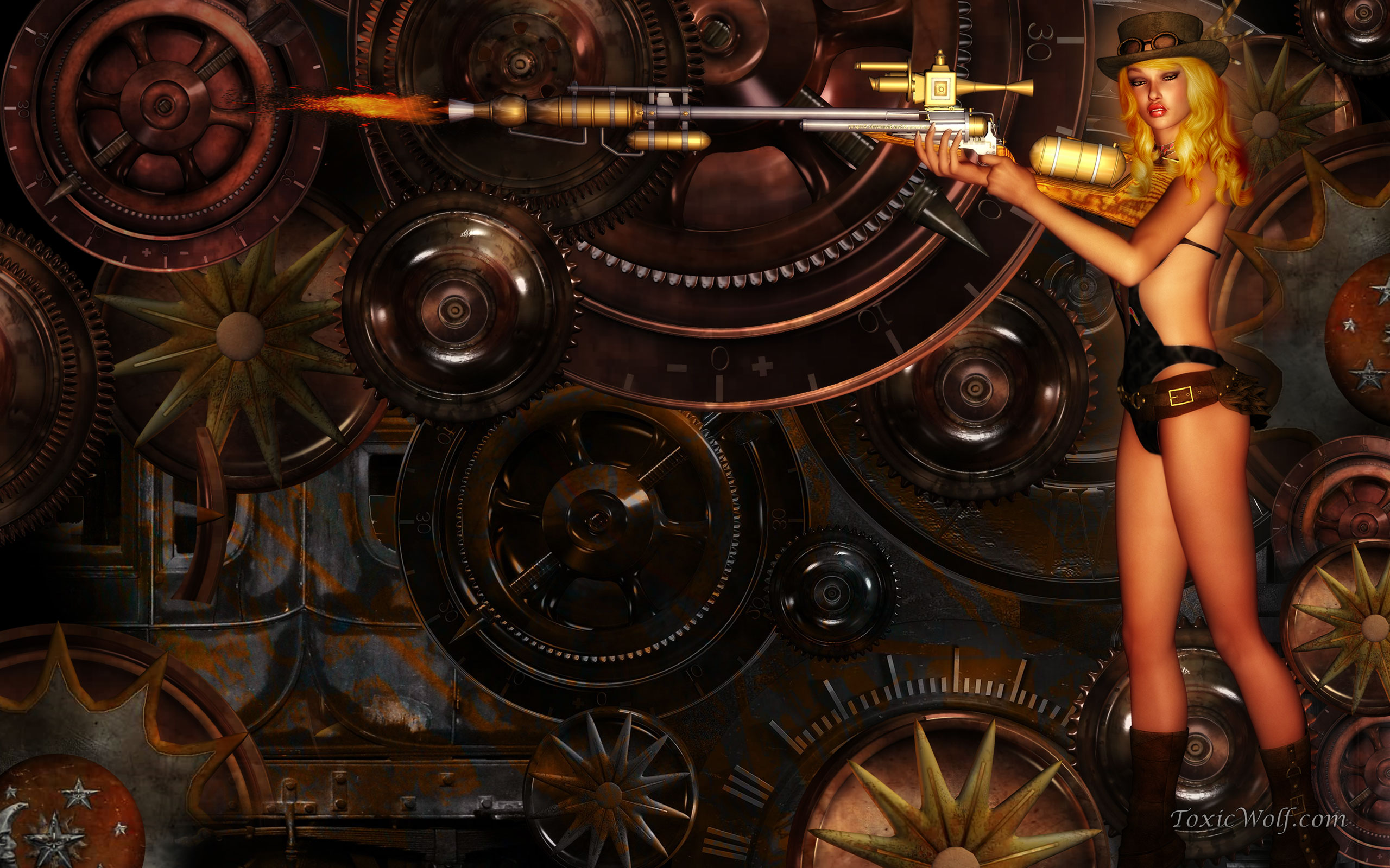 Steampunk Computer Wallpapers Desktop Backgrounds 2560x1600