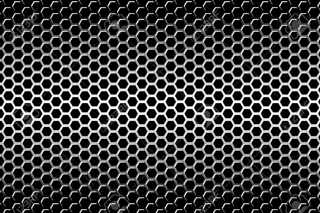 Background Material Wallpaper Perforated Metal Hexagonal 1300x866