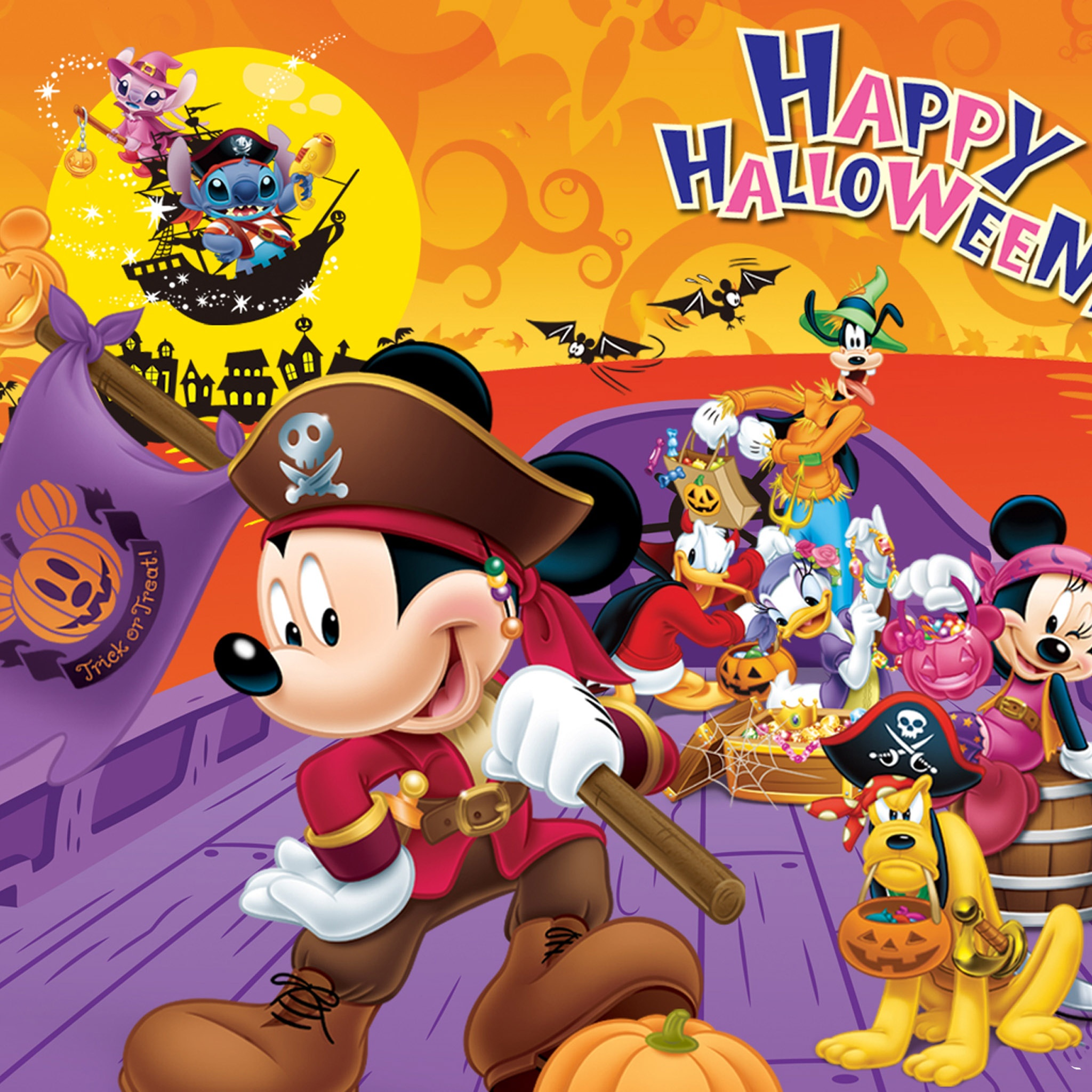 Kumpulan Mickey Mouse Colores Disney Halloween Pc Android Iphone ...