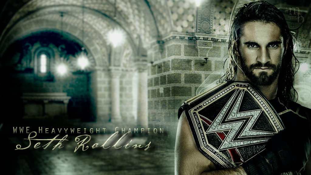 Free download Seth Rollins WWE Champion