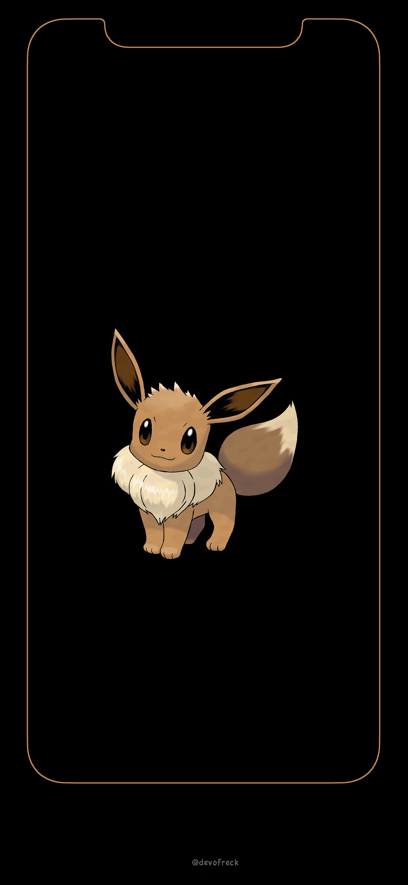 In anticipation for Pokemon Lets Go Pikachu and Lets Go Eevee I 1301x2820