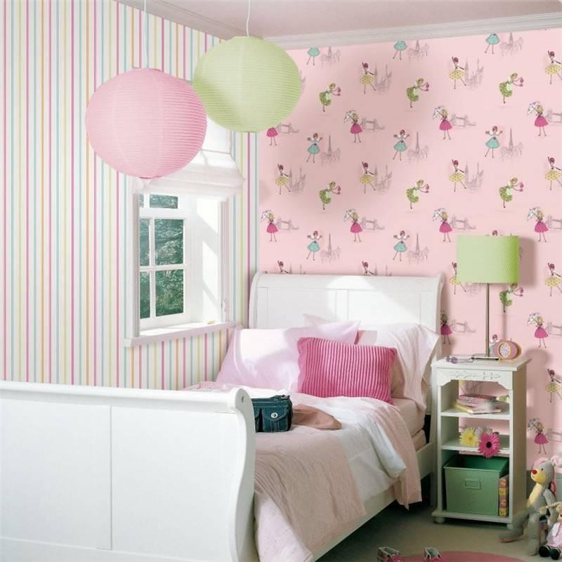 Paris in Pink Wallpaper WallpaperSafari ~ Quarto Solteiro Feminino Vintage