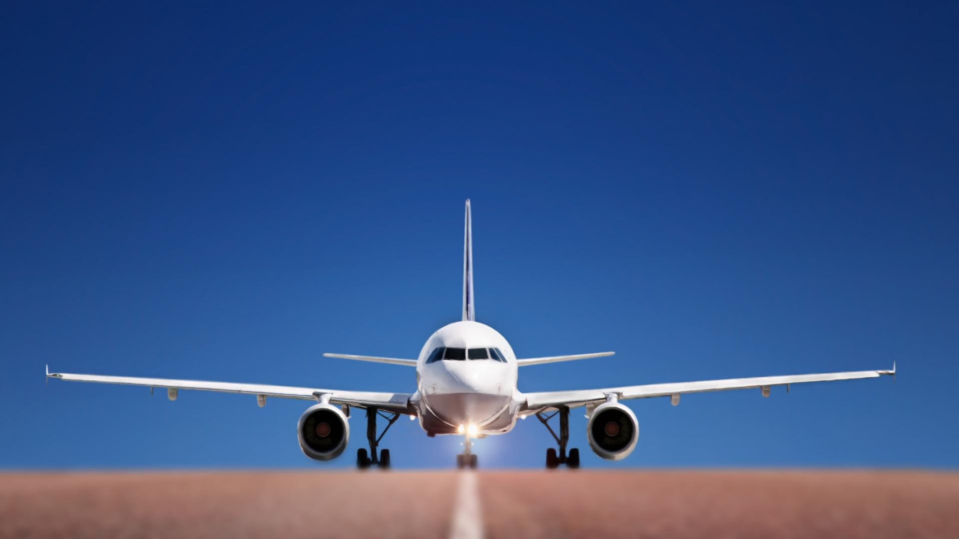 airplane take off airplane take off 1920x1080