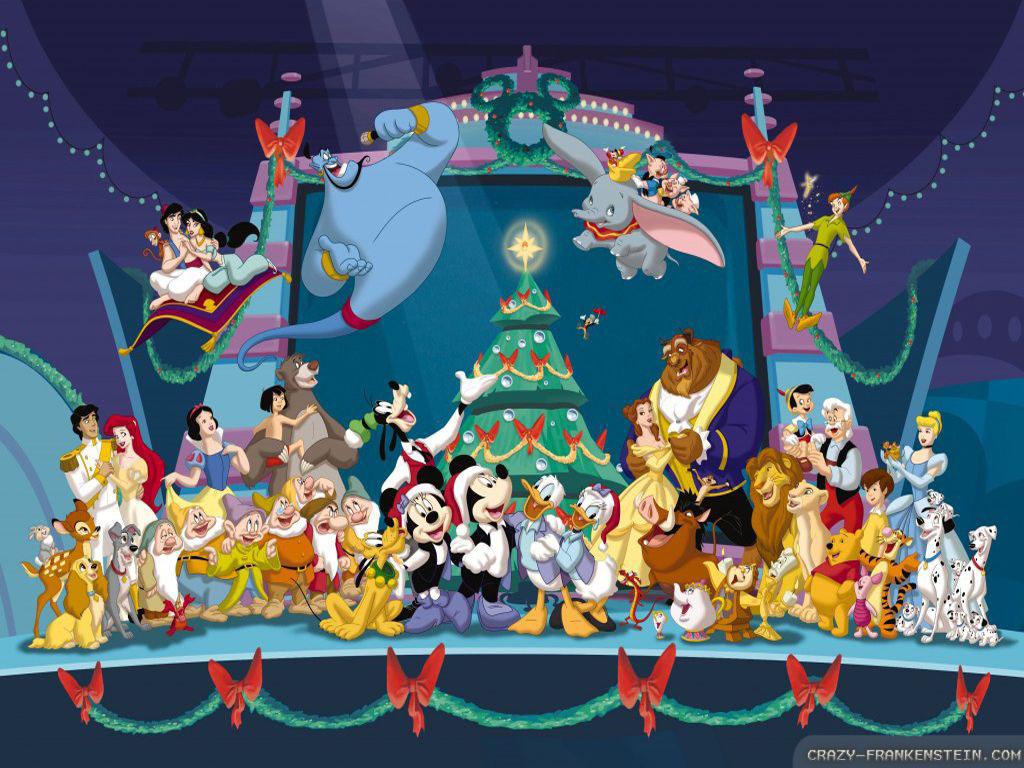 Wallpaper Disney Christmas wallpapers 2 1024x768