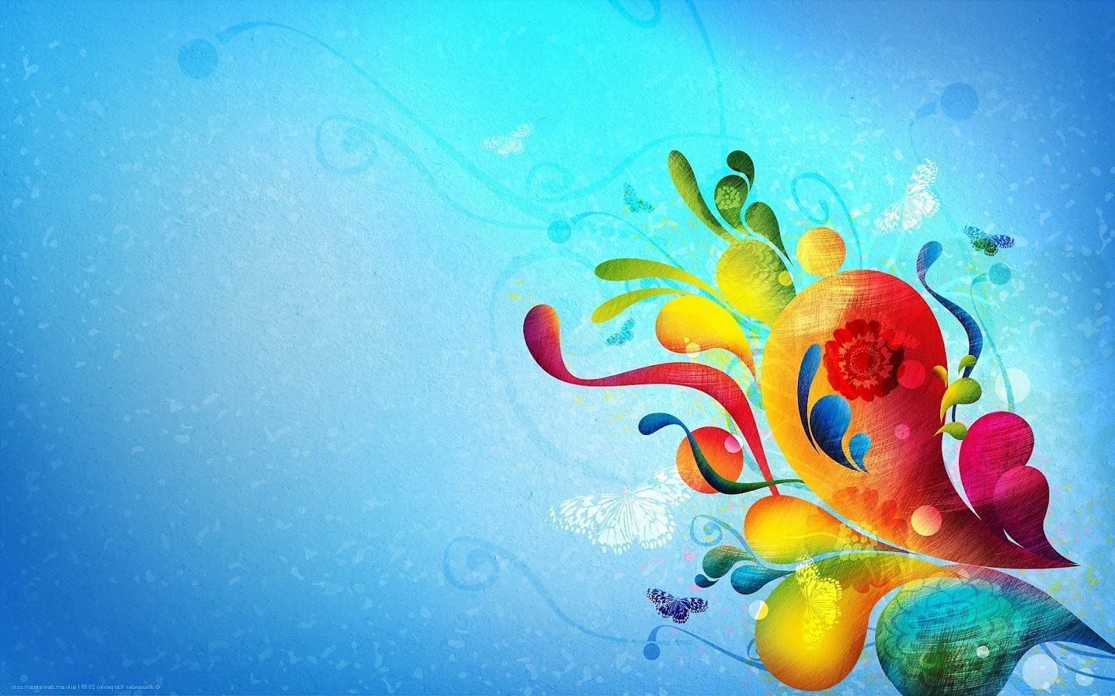 Pretty Colorful Backgrounds 1600x1000