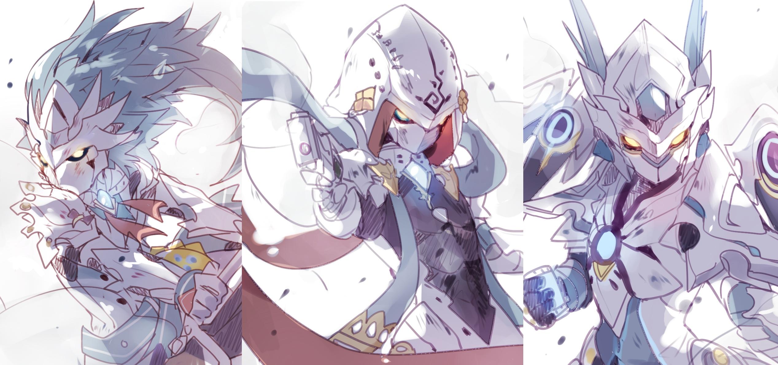 Iron Paladin Chung   Chung Elsword   Zerochan Anime Image Board 2535x1189