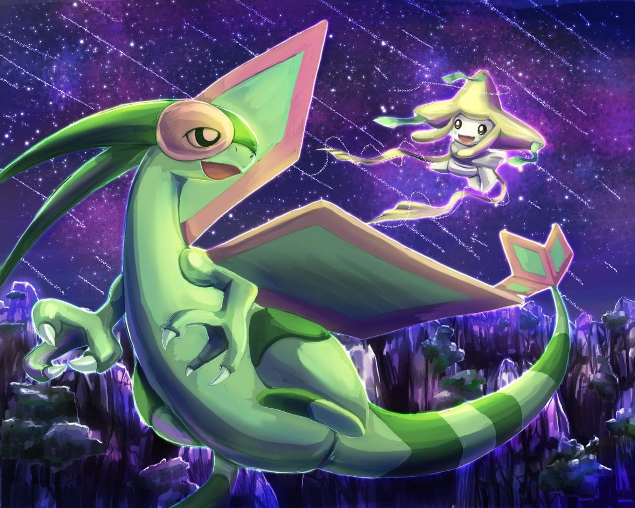 High resolution Flygon Pokemon hd 1280x1024 wallpaper ID278887 1280x1024